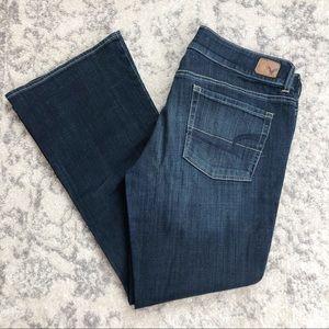 American Eagle Artist Stretch Jeans 14 Short EUC